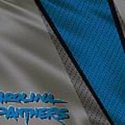 Carolina Panthers Uniform Art Print