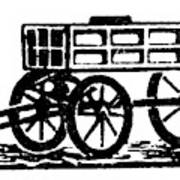 Cart, 19th Century Art Print