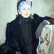 Cassatt's Portrait Of An Elderly Lady Art Print