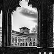Castello Visconteo Art Print