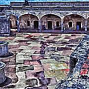 Castillo De San Cristobal Art Print