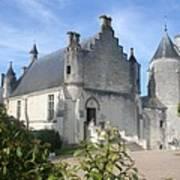 Castle Loches - France Art Print