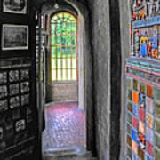 Castle Passageway Art Print