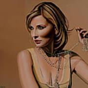 Cate Blanchett Painting  Art Print