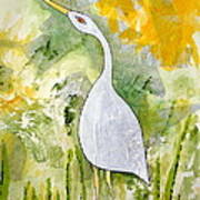 Cattle Egret Art Print