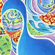 Celestial Separation Art Print