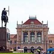 Central Railway Station Zagreb Art Print