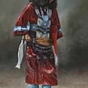 Ceremonial Red Art Print