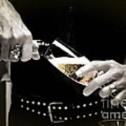 Champagne Toast Art Print