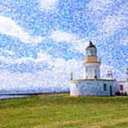 Chanonry Point Lighthouse Art Print