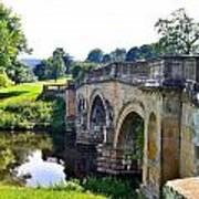 Chatsworth Bridge Art Print
