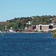 Chelsea Harbor In Fall Art Print