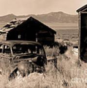 Cherry Creek   Nevada Art Print
