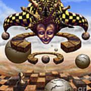 The Chess Master Art Print