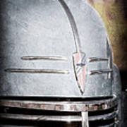 Chevrolet Hood Emblem - Grille Emblem Art Print