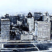 Chicago Panorama 1915 Art Print