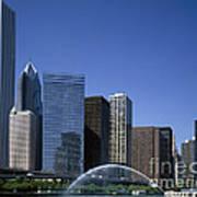 Chicago Skyline Print by Rafael Macia
