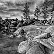 Chimney Beach Lake Tahoe Art Print