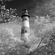 Chincoteague Island Lighthouse Art Print