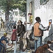 Cholera Epidemic, 1873 Art Print