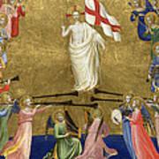Christ Glorified In The Court Of Heaven Art Print