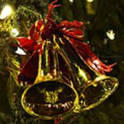 Christmas Bells Ornaments Faneuil Hall Tree Boston Art Print