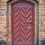 Church Door 02 Art Print by Antony McAulay