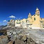 church in Camogli Art Print