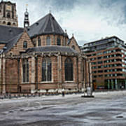 Church Of St Lawrence In Rotterdam Art Print