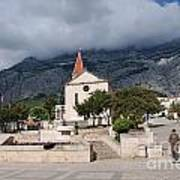 Church Of St.mark Makarska Art Print