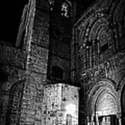 Church Of The Holy Sepulchre Art Print by Amr Miqdadi