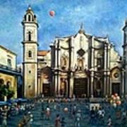 Church Square Havana Art Print