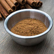Cinnamon Spice Art Print