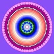 Circle Motif 224 Art Print