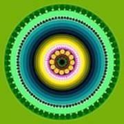 Circle Motif 225 Art Print
