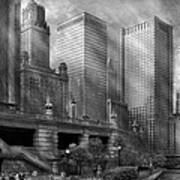 City - Chicago Il - Continuing A Legacy Art Print