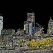 City Of London Art Art Print
