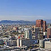 City Of Los Angeles Art Print