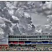 Clouds Over Stadium Art Print