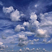 Cloudscape 4 Art Print