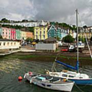 Cobh Town In Ireland Art Print