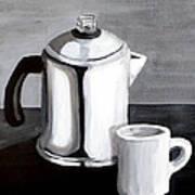Coffee's On Art Print