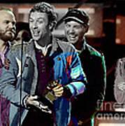 Coldplay Art Print