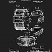 Collapsible Drum Patent 008 Art Print