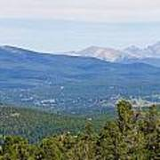 Colorado Continental Divide 5 Part Panorama 5 Art Print