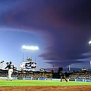 Colorado Rockies V Los Angeles Dodgers Art Print
