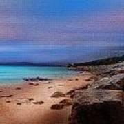Colorful Beach Art Print