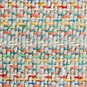 Colorful Blanket Art Print