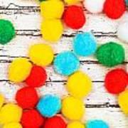 Colorful Bonbons Art Print