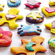 Colorful Cookies Print by Carlos Caetano
